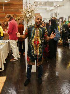 Bishlam Bullock, owner Salon B, San Rafael